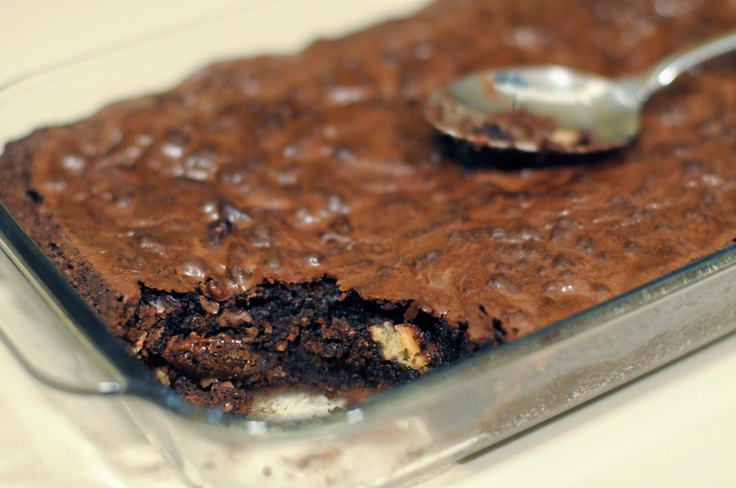 Twix brownies - when two good things are combined into one :)