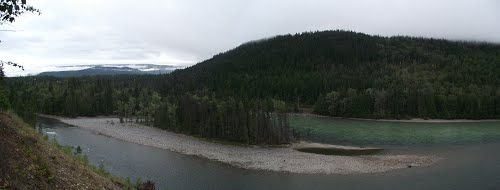 north thompson river provincial park threatened by Trans Mountain Pipeline, wanting to have rules of 4 parks changed, so they may put pipeline through within the parks boundaries,