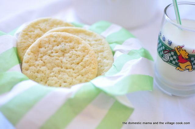 chewy lime sugar cookies | Favorite Recipes | Pinterest