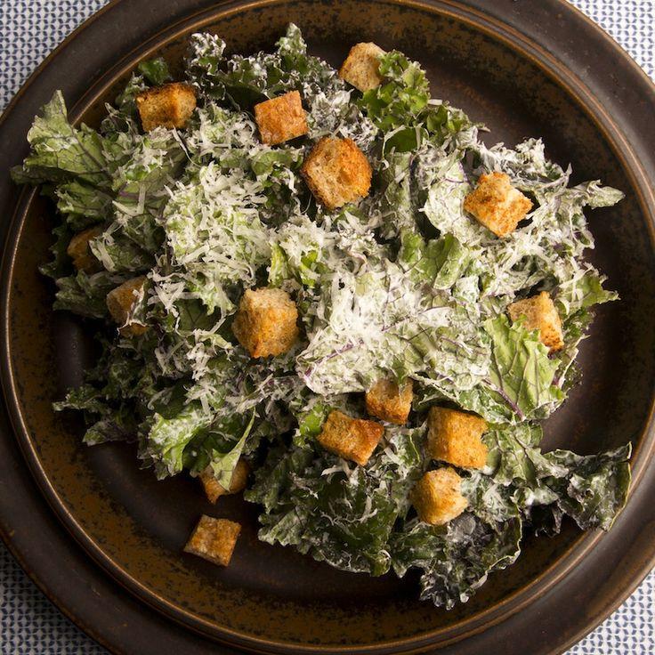Kale Caesar Salad. Kale has this crisp quality too, making it an ...