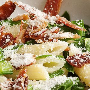 Penne with Mascarpone and Bacon   Recipe