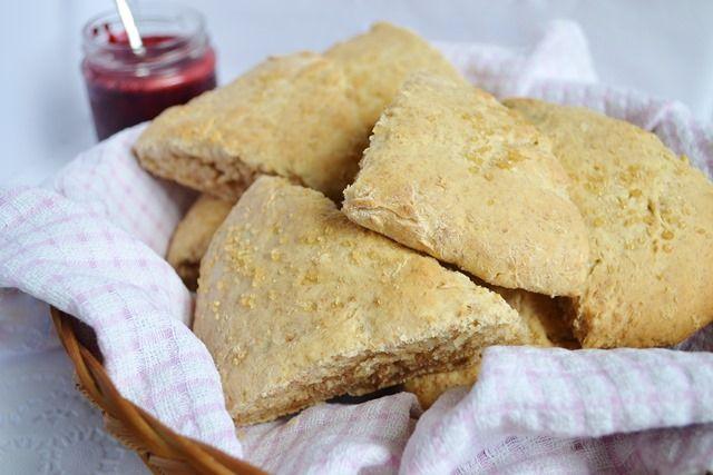 Lemon Coconut Milk Scones (with Blackberry Chia Jam) - Coconut and ...