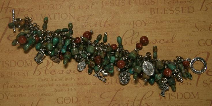 Bracelets - Turquoise Cha-Cha!!  Love, love, love it!!