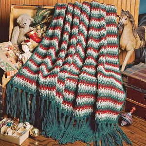 Free Crochet Christmas Throw Patterns : Christmas Afghan Crochet Pattern ePattern