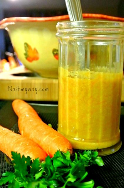 This Shiro Miso Carrot and Sesame Dressing makes a great marinade ...