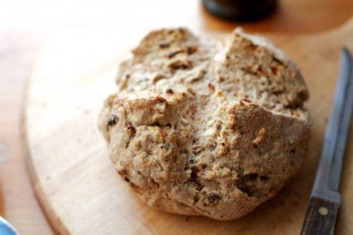 Naturally Ella | Feta and Sun-Dried Tomato Soda Bread | Naturally Ella