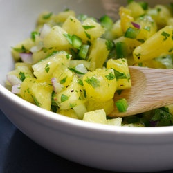 Spicy Pineapple Salsa — Punchfork. I bet this would go great with ...