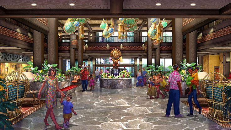 Polynesian Village Disney World