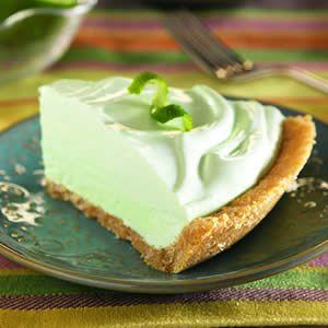 Frozen Margarita Pie | Pie and Tarts | Pinterest