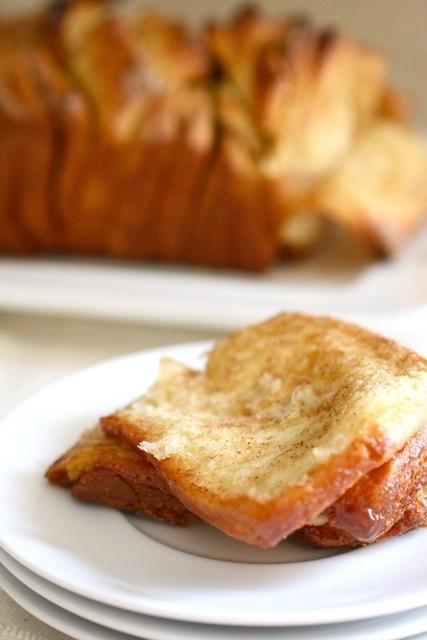 Cinnamon sugar pull-apart bread | food | Pinterest