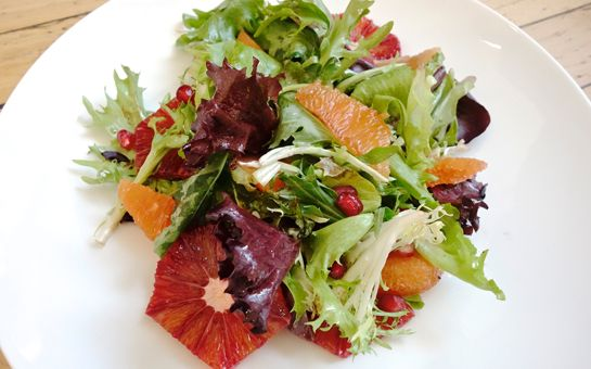Citrus salad with Cocoa Vinaigrette | Recipe