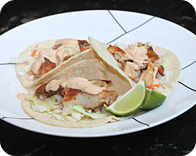 Baja Fish Tacos | The Main Dish | Pinterest
