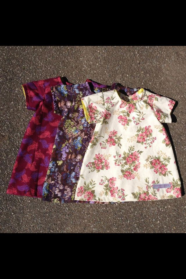 Cute dresses i helped make at salvation army redesign