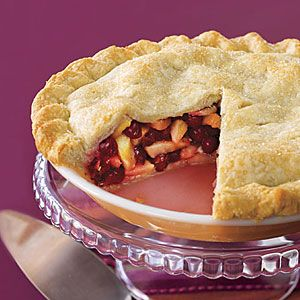 Cranberry-Pear Pie Recipe- so good with the pears, cranberries and ...