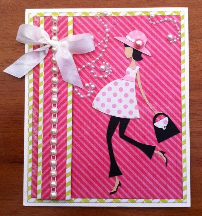 Сделать открытку девушке на день рождения 427