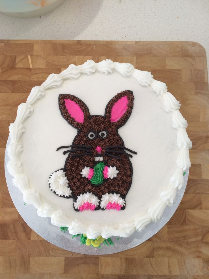 Easter Cake Decorations Pinterest : Angry Easter Bunny Cake Cake decorating Pinterest