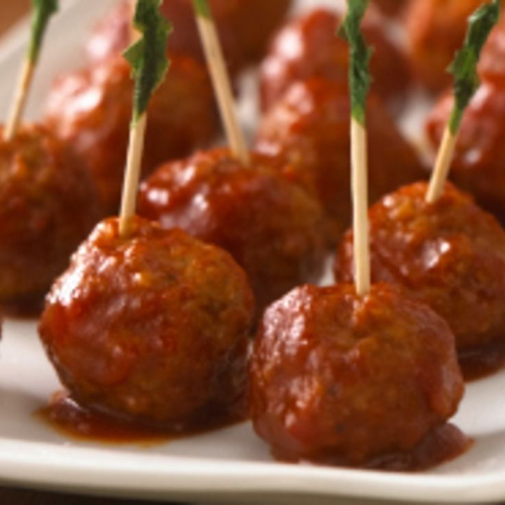 Grandpa Ray's Sweet & Spicy Meatballs | Meat Dishes | Pinterest