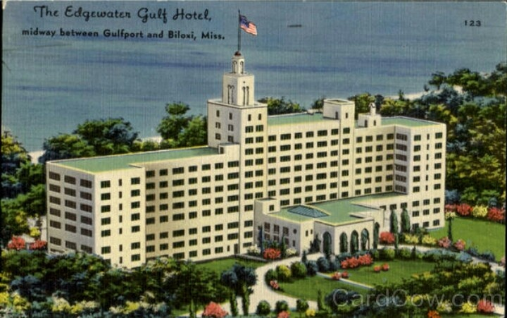 Edgewater hotel travel biloxi mississippi pinterest