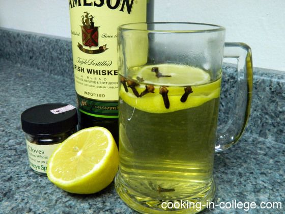 Hot Whiskey - Cooking in College | Drinks | Pinterest