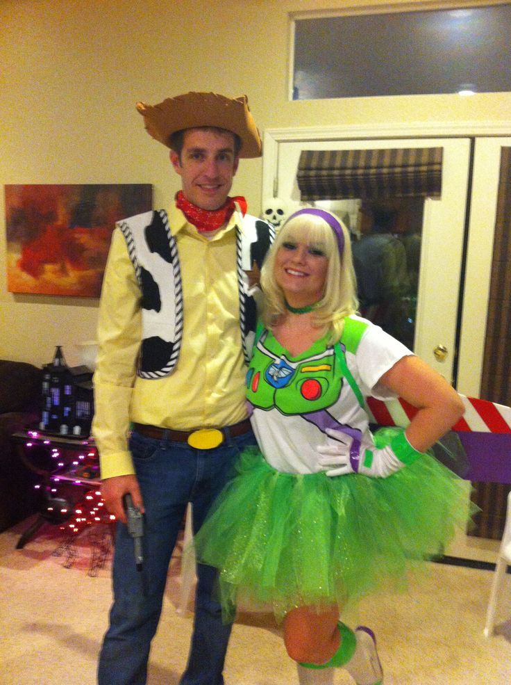Buzz Lightyear And Woody Costumes Woody and buzz lightyearWoody And Buzz Couple Costumes