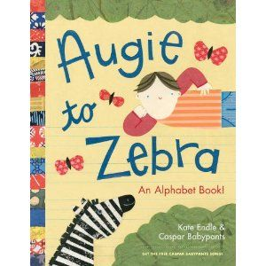 Augie to Zebra alphabet book for kids - by Chris Balew, Kate Endle