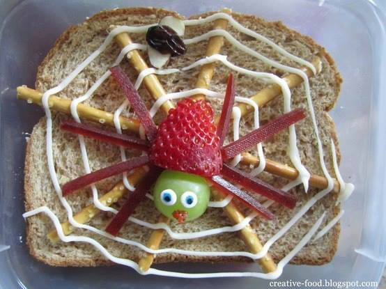 spider bread | Creative food | Pinterest