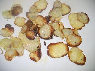 CSA girl: Purple Kohlrabi Chips | Summer | Pinterest