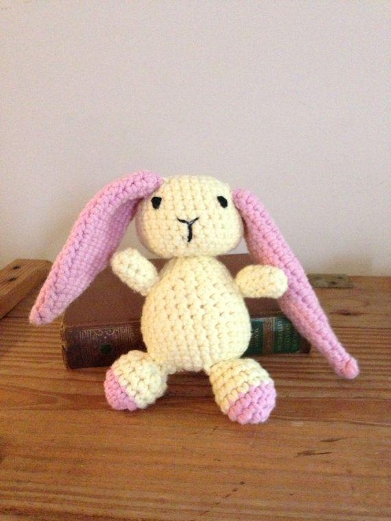 Amigurumi Floppy Ear Bunny : Floppy Ear Bunny Rabbit Crochet