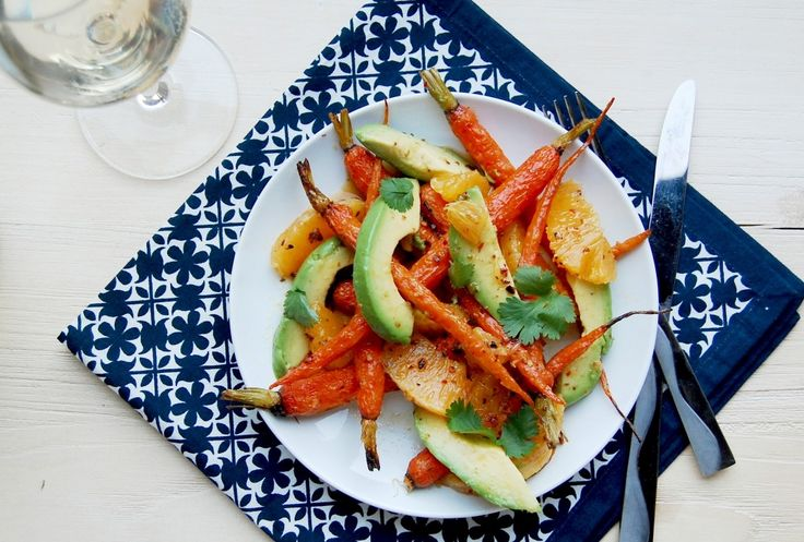 Roasted Carrot, Avocado and Orange Salad | Avocado Lovin' | Pinterest