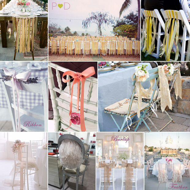 different wedding chair decorations my wedding ideas pinterest