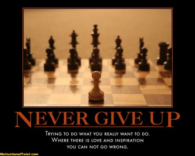 never give up inspirational quotes quotesgram