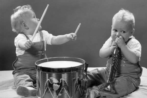 Learning to make music helps babies communicate better and amps up empathy in older kids.