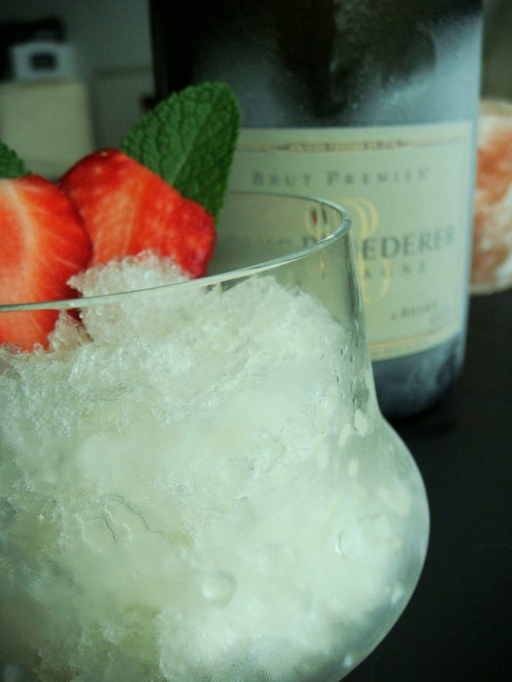 champagne sorbet | the BUZZ | Pinterest