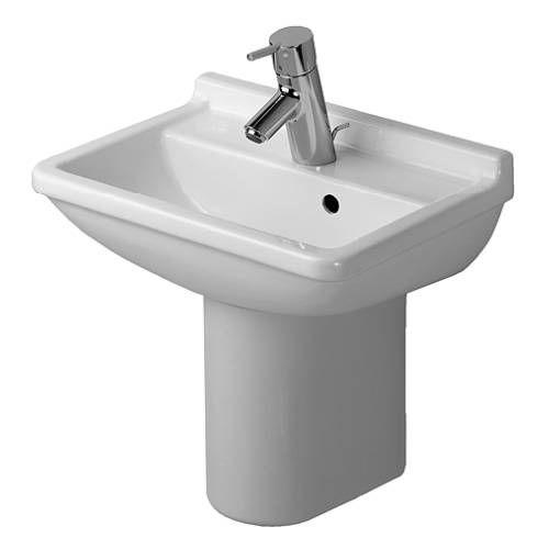 Duravit Pedestal Sink : Duravit D19015 Starck 3 - 17 1/2