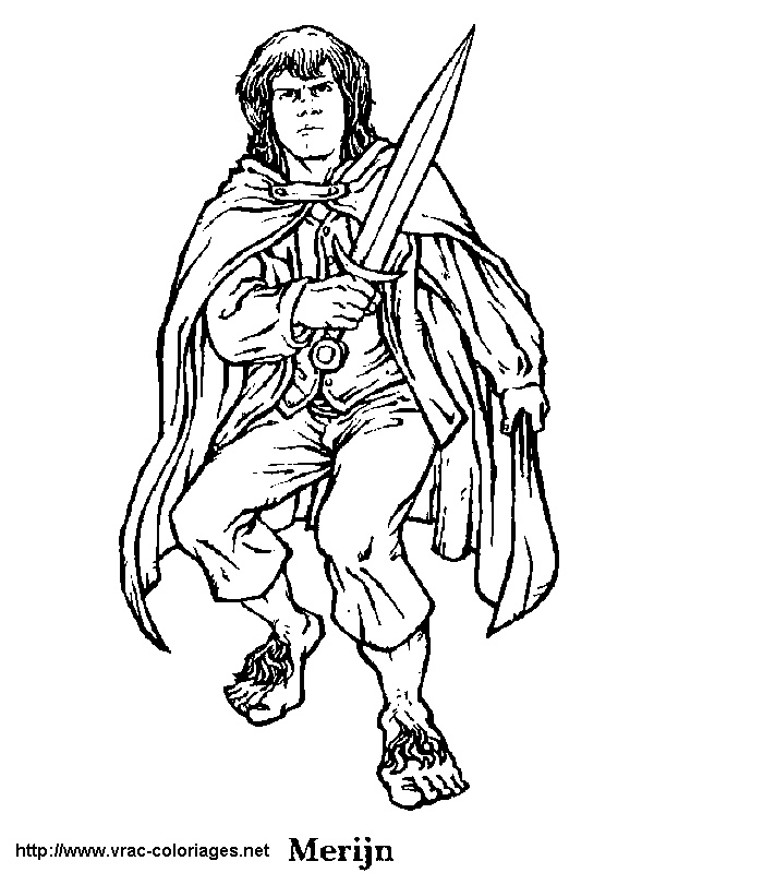 LOTR The Hobbit Coloring Pages