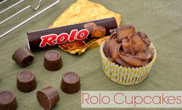 Rolo Cupcakes! via @Tyler {Rays of Purple}