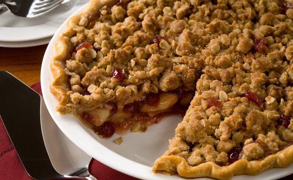Apple Cranberry Streusel Pie | Pies & Tarts Recipes | Pinterest