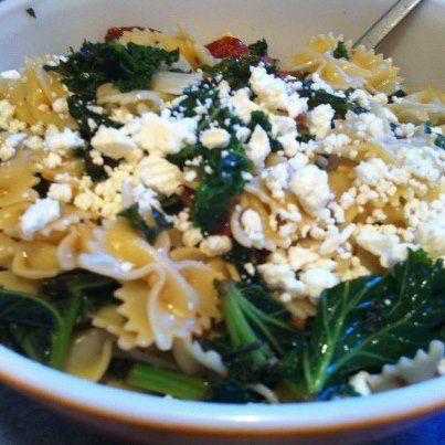 Farfalle with Sausage & Kale | Food | Pinterest