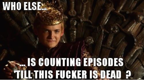 Meeee!!!!!!!!!!!!!  Games of Thrones... Joffery.