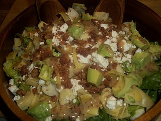 Hearts of Palm Salad~ A salad that eats like a meal. Hearts of Palm ...