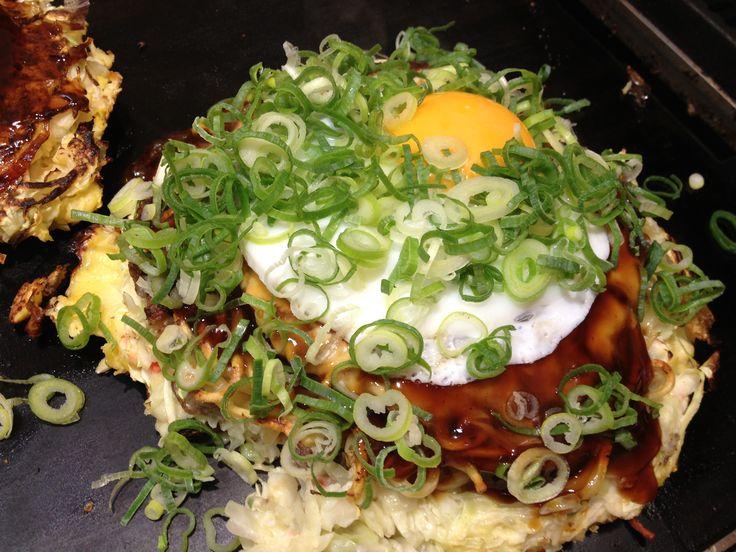 "Japanese Pizza ""Okonomiyaki"" | Food in Japan | Pinterest"