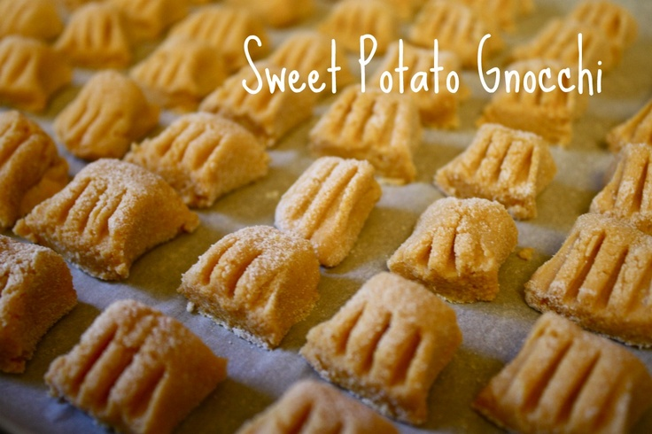 Gluten Free Sweet Potato Gnocchi. (brown rice flour, almond flour ...