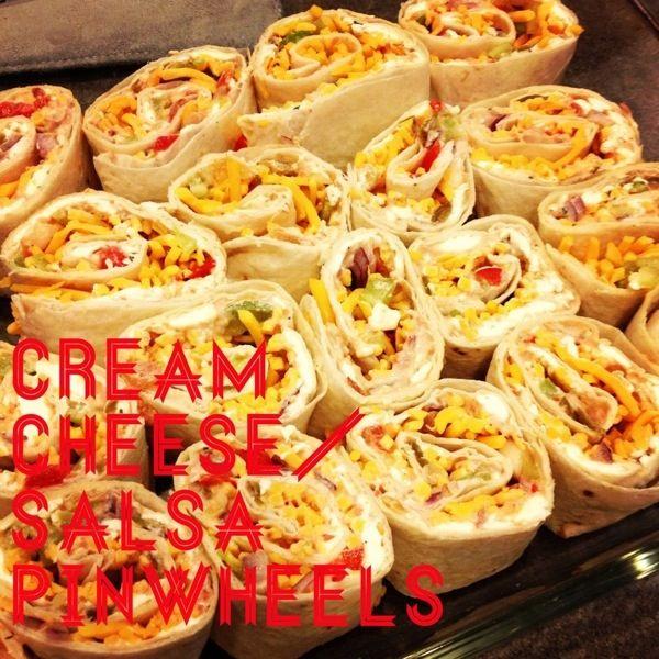Cream Cheese Salsa Pinwheels   Food: Appetizers, Dips & Snacks   Pint ...