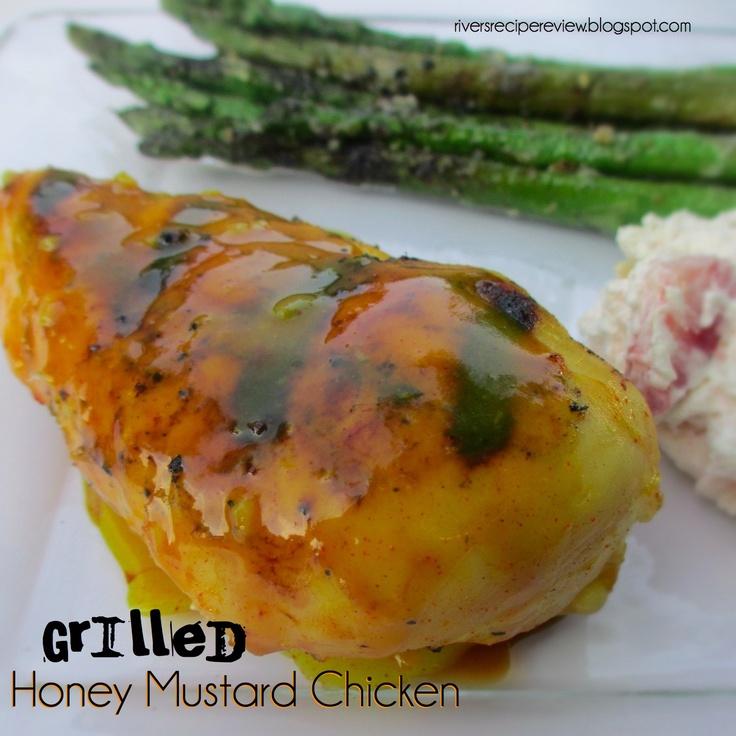 Honey mustard grilled chicken
