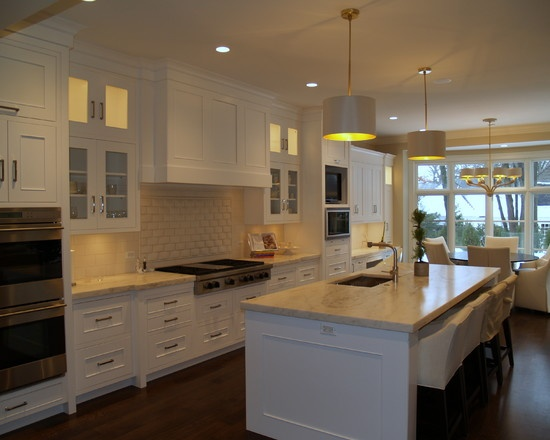 Open Concept Kitchen Design Custom Inspiration Design