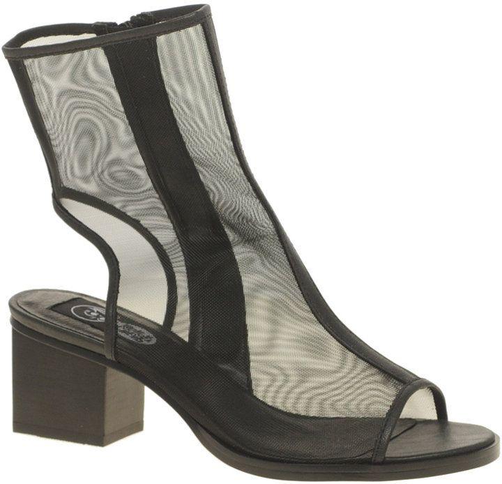 Cheap Monday Kloss Net Peep Toe Boots