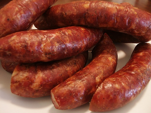 Andouille Sausage Po Boy--Use COMEAUX'S ANDOUILLE and Seasoning http ...