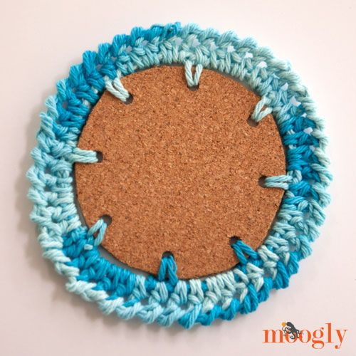 Nautical Crochet Coasters! Four free #crochet patterns on Mooglyblog ...