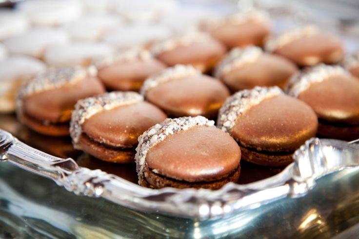 Wintery Macarons Recipe — Dishmaps