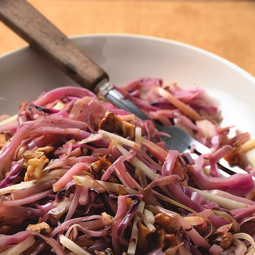Warm red cabbage salad | Delicious: Sides | Pinterest